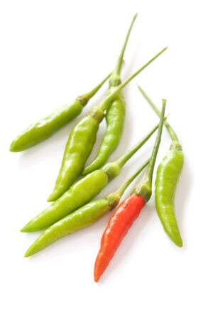 chilly: Red and green chilly