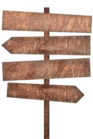Blank wood sign photo