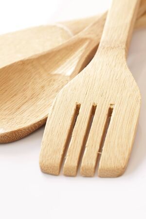 cooking implement: Wood utensil