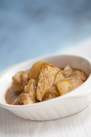 Massaman chicken curry as world delicious food photo