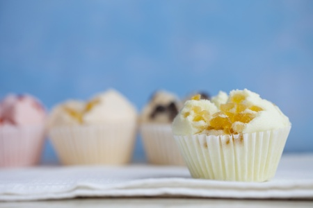 Fruit cup cake Stock Photo - 15028700