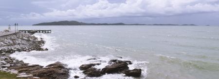 Seascape panorama Stock Photo - 15491137
