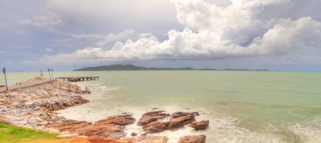 Seascape of Thailand photo