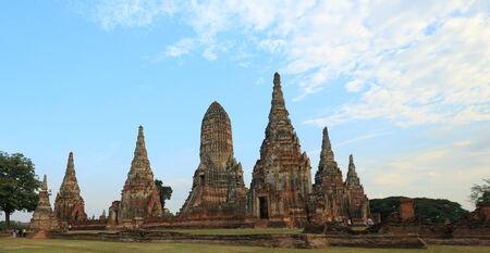 Wat Chaiwattanaram, Ayutthaya, Thailand Stock Photo