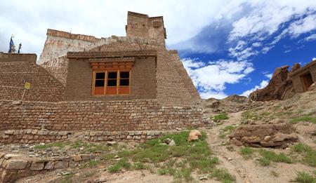 gompa: Basgo gompa in Leh, Ladakh, India Stock Photo
