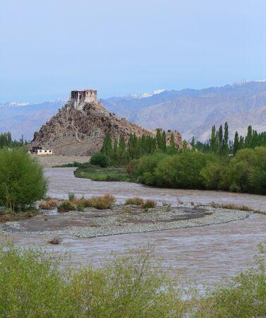 gompa: Gompa in Leh, Ladakh, India