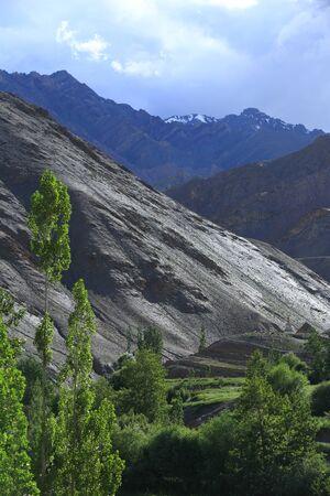 lamaism: Mountain in Leh, Ladakh, India
