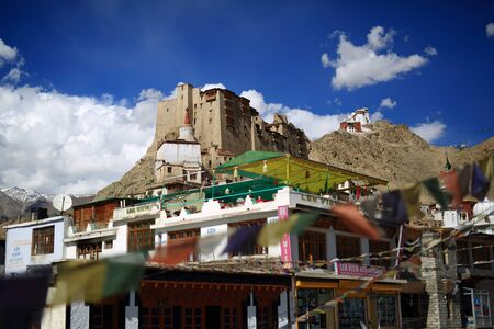 gompa: Tsemo gompa in Leh, Ladakh, India
