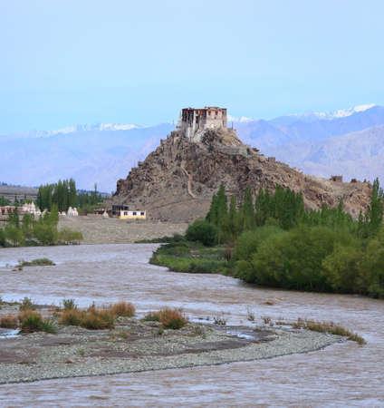 ladakh: Monastery in Leh, Ladakh, India