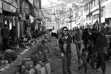 ladakh: Leh market, Ladakh, India Editorial