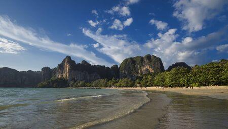 Railay beach in Krabi, Thailand Standard-Bild