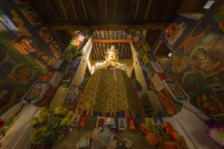 ladakh: Buddha in Leh, Ladakh, India