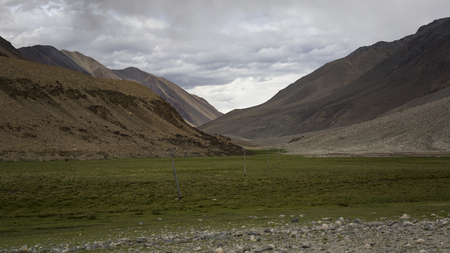 Leh, Ladak, India Standard-Bild