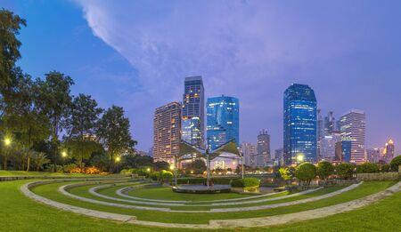 Benjakitti park in Bangkok, Thailand
