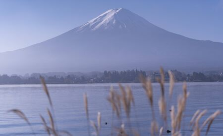 Mountain Fuji (Fuji san) in Japan Standard-Bild