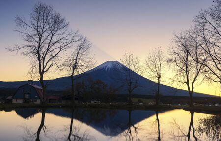 Mountain Fuji (Fuji san) in Japan Editorial