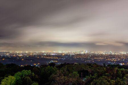Skyline of a metropolis Stock Photo