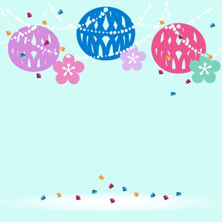 newyear: Japanese newyear celebration Illustration