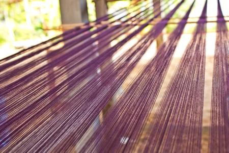loom: loom thread homemade
