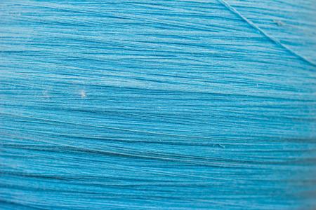 Blue cotton fabric texture photo