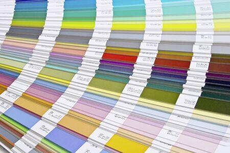Pantone sample colors catalogue Stock Photo - 8491855