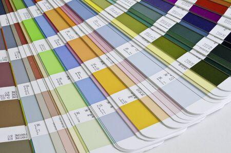 Pantone sample colors catalogue  Stock Photo - 8491805