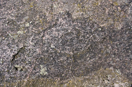 attrition: grey antique stone texture with moss