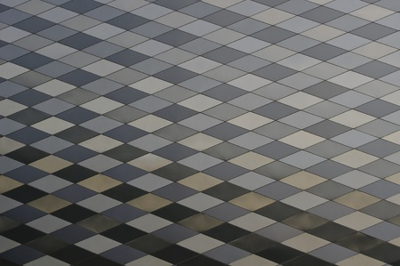 metal background with rhombus Stock Photo - 8792430