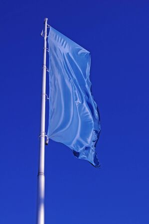 Blue flag Stock Photo - 8899294