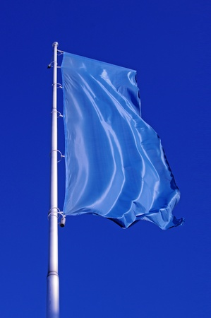 Blue flag Stock Photo - 8899291