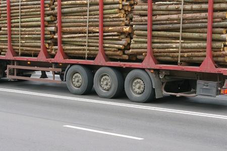 motor de carro: Registros de madera el registro cami�n Trailer