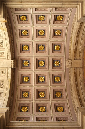 The Saint Stephens Basilica in Budapest, Hungary