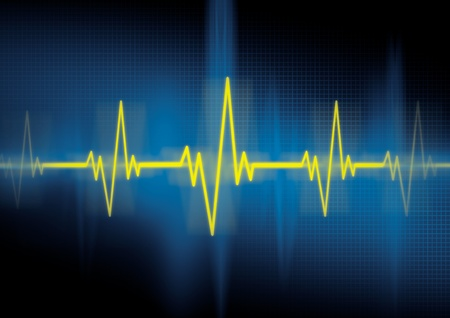 Heartbeat, cardiology photo