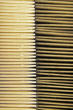 Air filters. Used and new photo