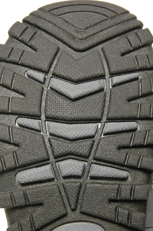 Sole of boot, detail photo