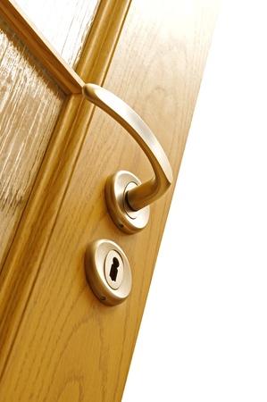 Lock and door handle  photo
