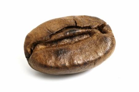 caf: Macro on coffee bean