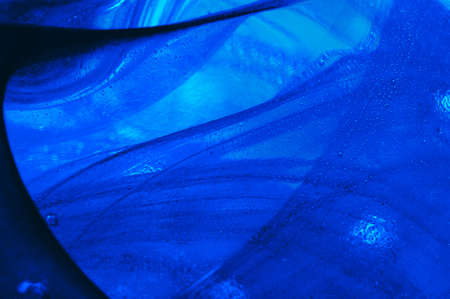 glas: Blue glas abstract background