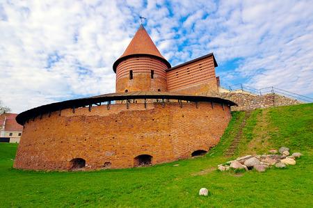 kaunas: Kaunas Castle, built during the mid-14th century, in the Gothic style, Kaunas, Lithuania