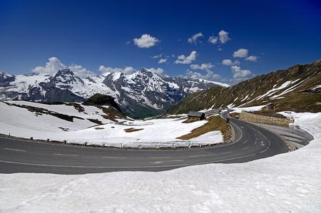 grossglockner: Grossglockner High Alpine Road, Austria, Europe Stock Photo