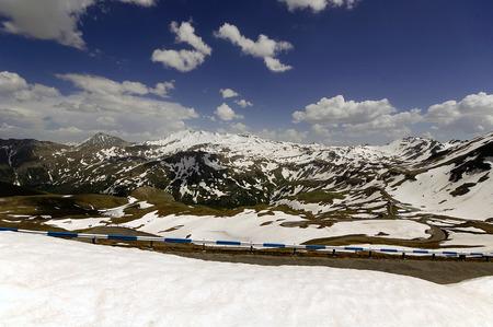 grossglockner: Views of the grossglockner High Alpine Road in Austria Europe