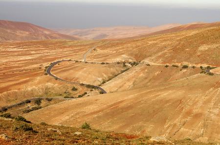 guise: Central Fuerteventura, Canary Islands, view from Mirador de Guise y Ayose