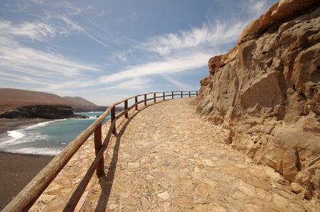 fuerteventura: Fuerteventura, Ajuy walkway to the caves