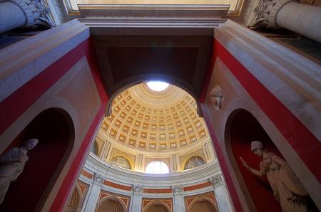italian fresco: Vatican museum