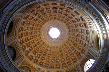 Inner view of cupola , Rome, Italy