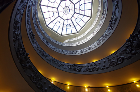 Spiral stairs of the Vatican Museums Editorial