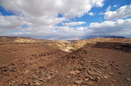 eilat: Israeli landscape near Eilat in the day