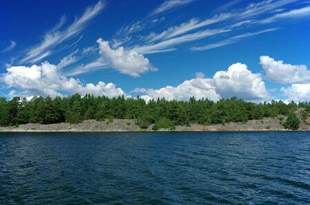 swedish: Swedish landscape in the summer