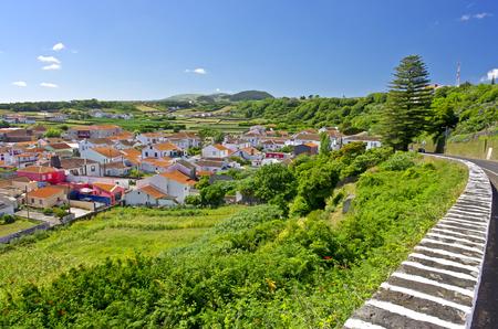 Landscape in Terceira, Agualva. Azores. Portugal. Horizontal Banco de Imagens