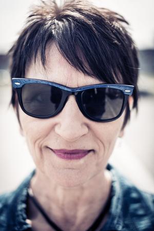 the sixties: Senior Womans Portrait